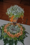 Floral table decoration