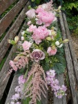 Wedding venue floral decoration