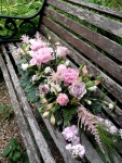 Wedding venue floral decoration