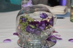 Wedding table centre piece