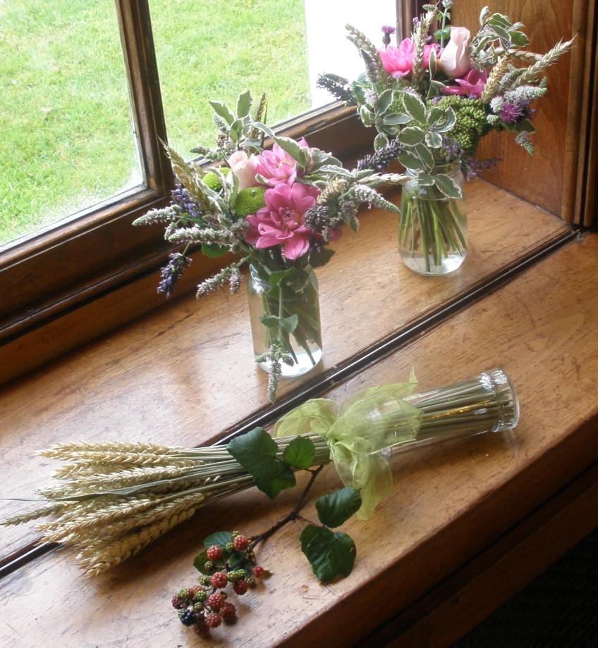 Floral window displays